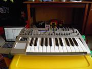 Novation X-Station25(midi-keyboard+synthesizer+audio interface)3500грн