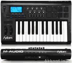 Магазин DJ оборудования продает миди клавиатуру M-AUDIO OXYGEN 25 MKII