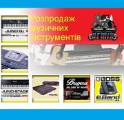 Продам синтезаторы и звуковое оборудование