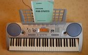 Продам синтезатор YAMAHA PSR 275  (5 октав,   клавиши динамические )